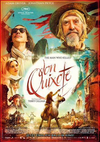 Film Poster Plakat The Man who killed Don Quixote