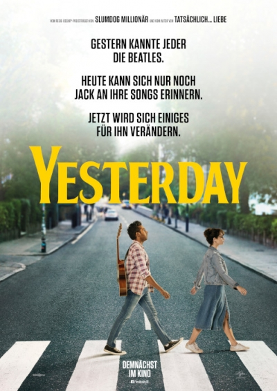 Film Poster Plakat - Yesterday