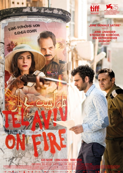 Film Poster Plakat - Tel Aviv on Fire