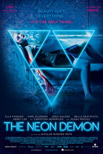 Film Poster Plakat - The Neon Demon